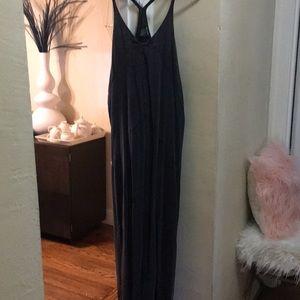 DKNY Eyelet Maxi Dress